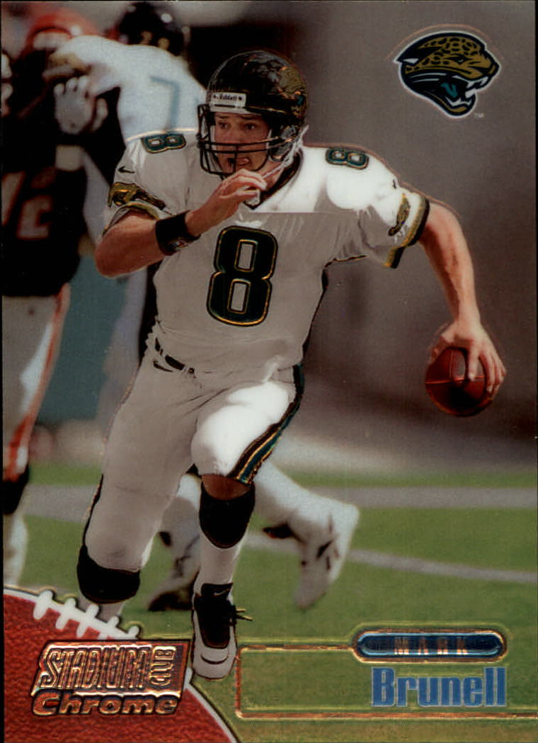 1998 Stadium Club Chrome #SCC2 Mark Brunell