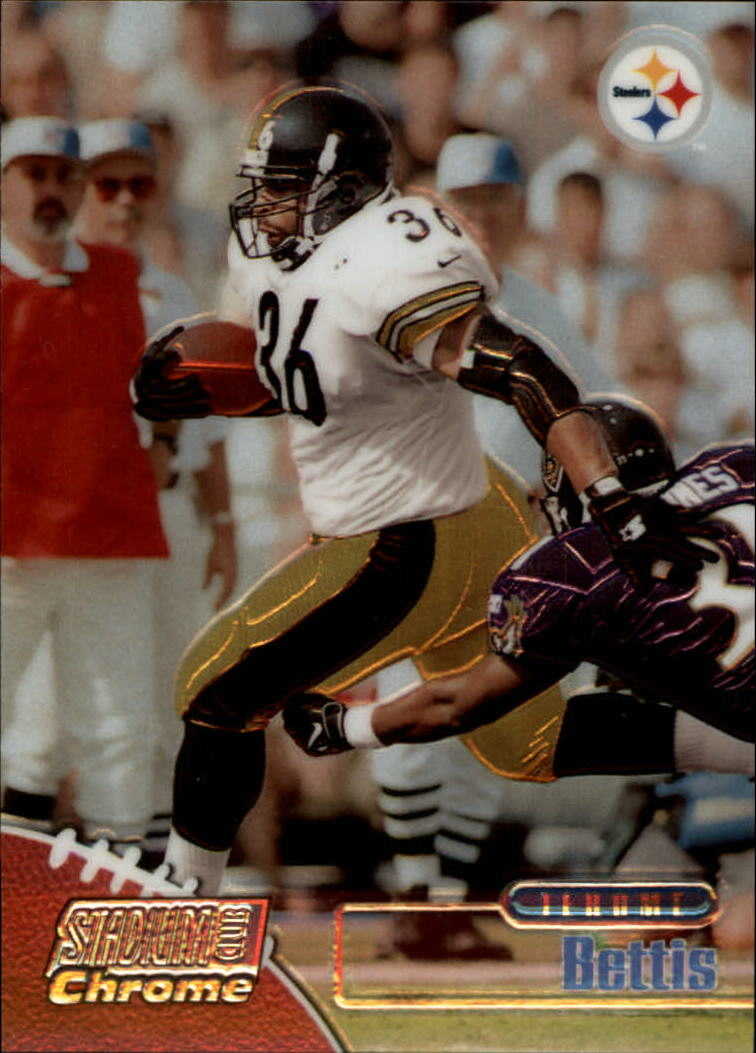 1998 Stadium Club Chrome #SCC3 Jerome Bettis