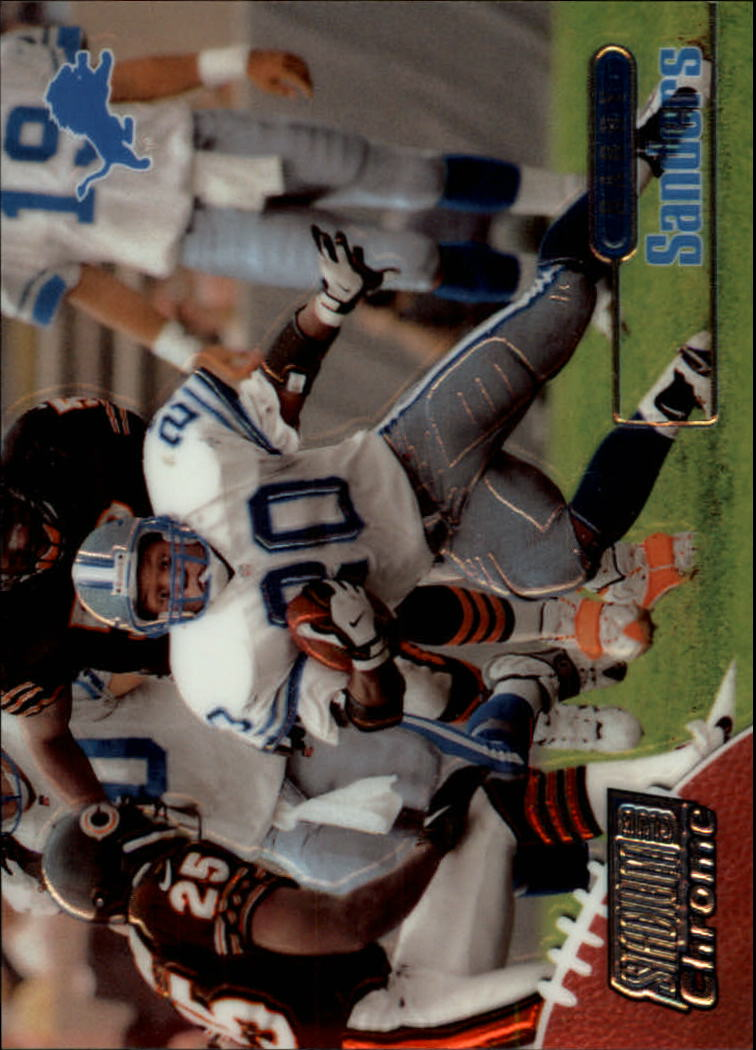 1998 Stadium Club Chrome #SCC10 Barry Sanders