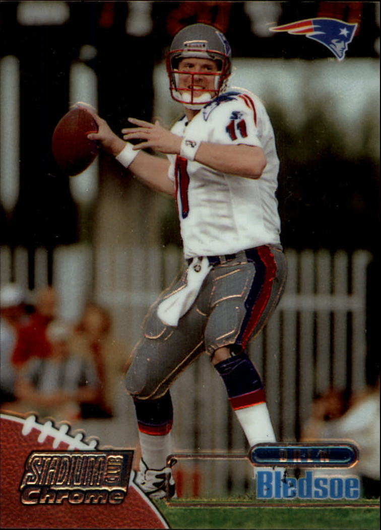 1998 Stadium Club Chrome #SCC18 Drew Bledsoe