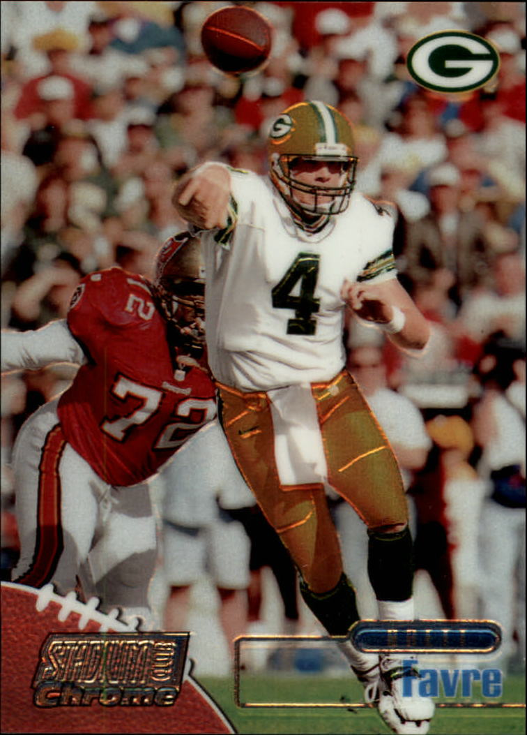 1998 Stadium Club Chrome #SCC20 Brett Favre
