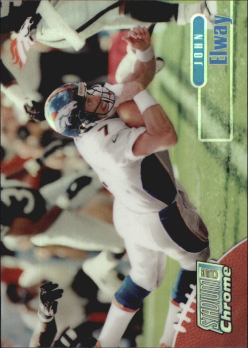1998 Stadium Club Chrome Refractors #SCC1 John Elway