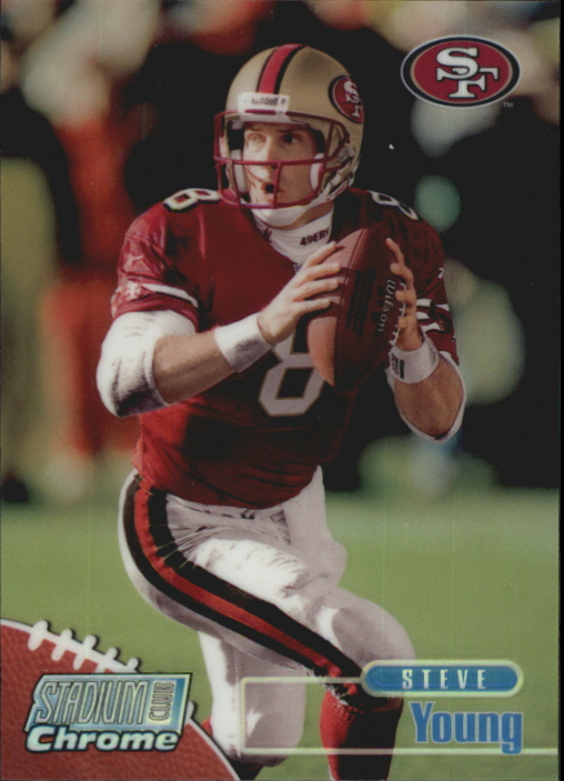 1998 Stadium Club Chrome Refractors #SCC4 Steve Young