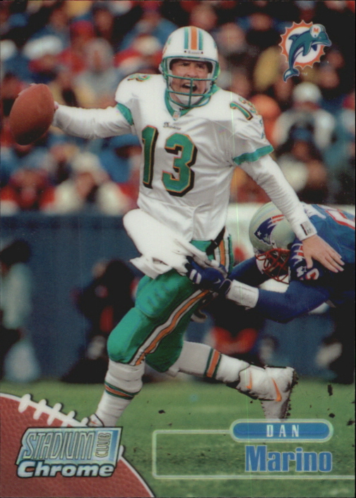 1998 Stadium Club Chrome Refractors #SCC8 Dan Marino