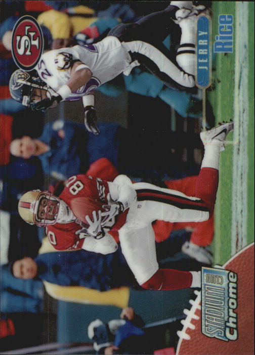 1998 Stadium Club Chrome Refractors #SCC14 Jerry Rice