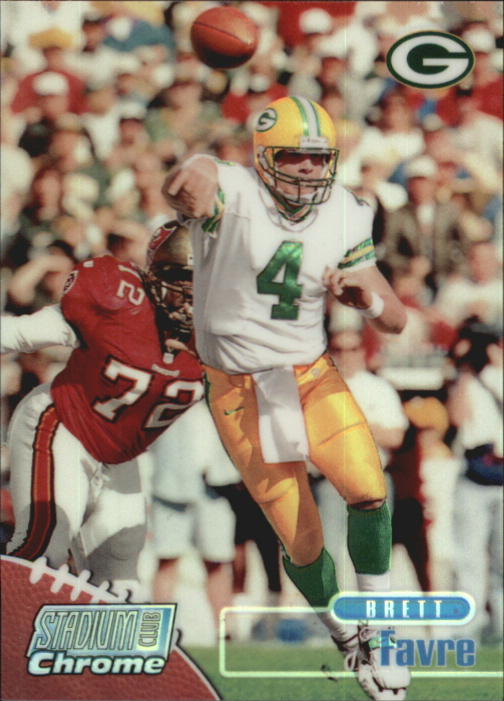 1998 Stadium Club Chrome Refractors #SCC20 Brett Favre