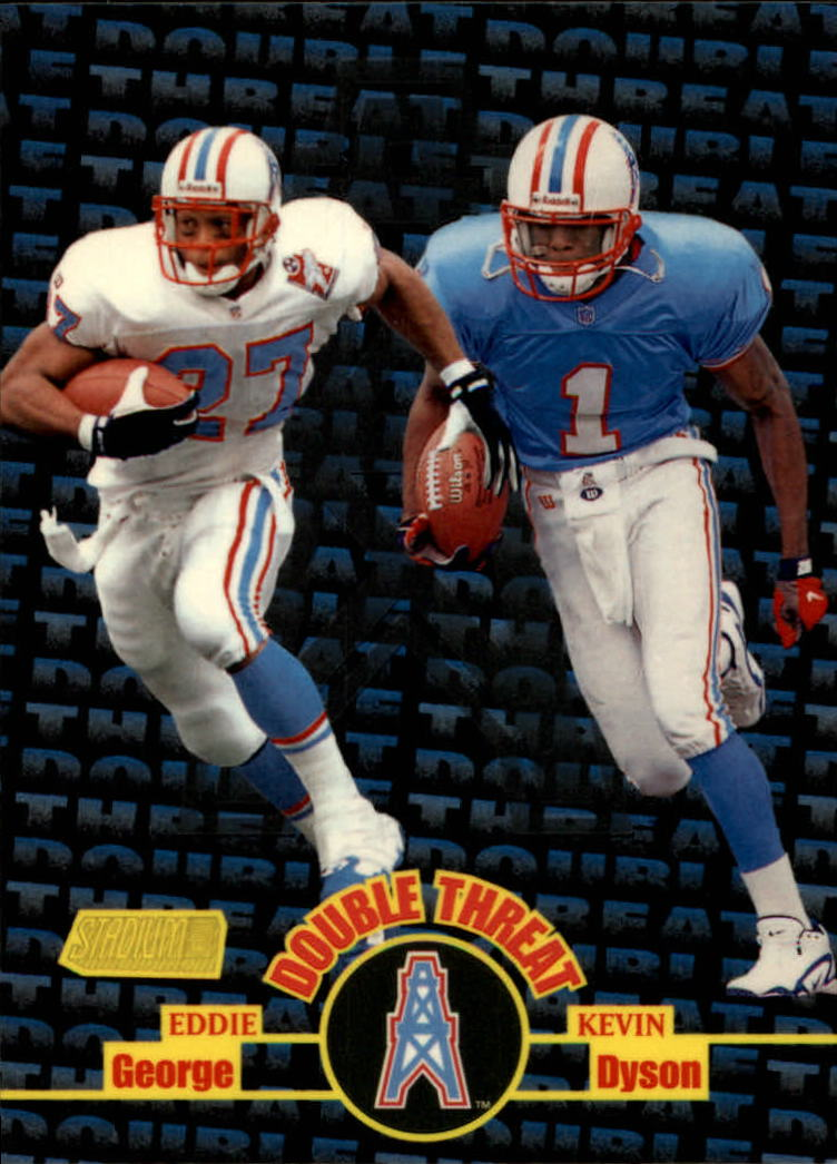 1998 Stadium Club Double Threat #DT7 E.George/K.Dyson