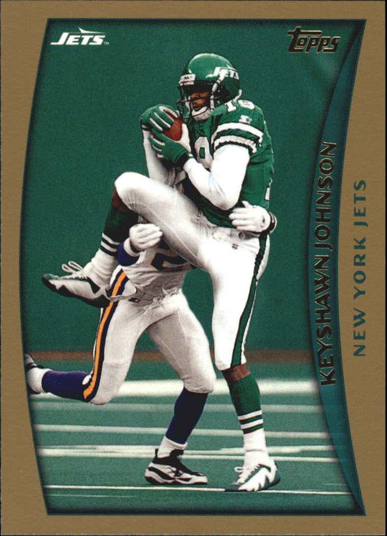 1998 Topps #229 Keyshawn Johnson