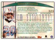 1998 Topps #323 Rodney Thomas back image