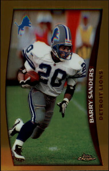 1998 Topps Chrome #1 Barry Sanders