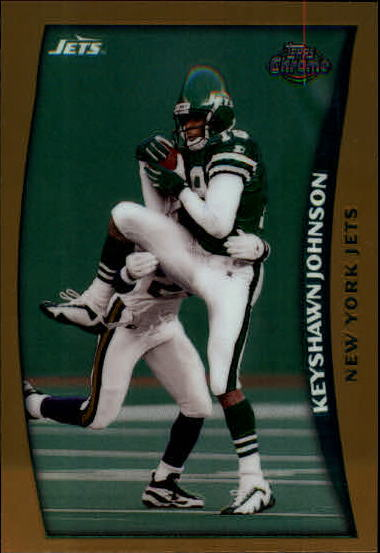1998 Topps Chrome #47 Keyshawn Johnson
