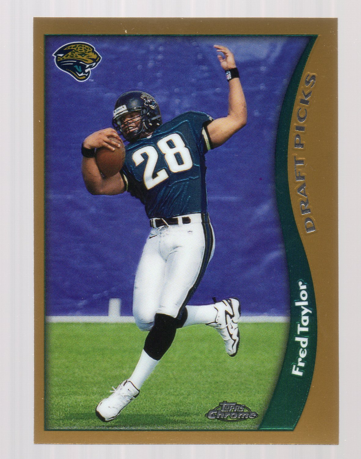 1998 Topps Chrome #152 Fred Taylor RC