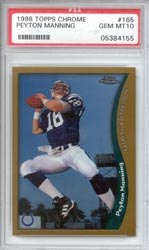 1998 Topps Chrome #165 Peyton Manning RC