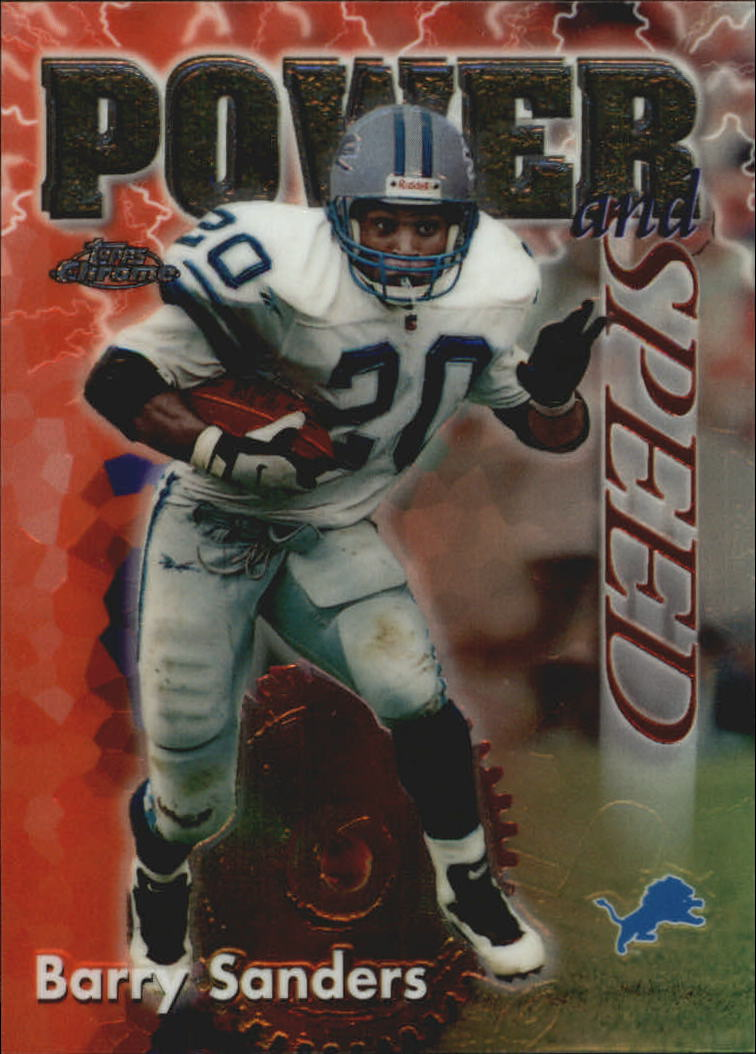 1998 Topps Chrome Season's Best #2 Barry Sanders