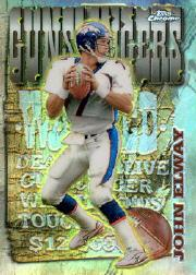 1998 Topps Chrome Season's Best Refractors #10 John Elway