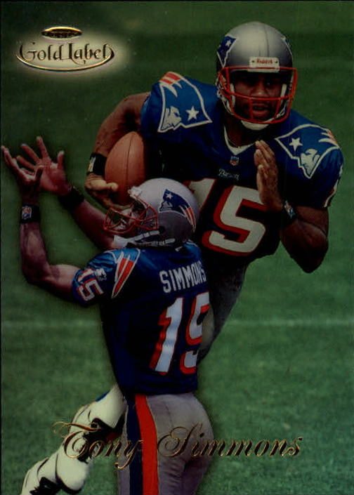 1998 Topps Gold Label Class 1 #46 Tony Simmons RC