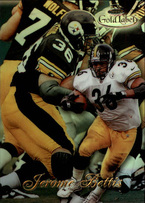 1998 Topps Gold Label Class 1 #70 Jerome Bettis