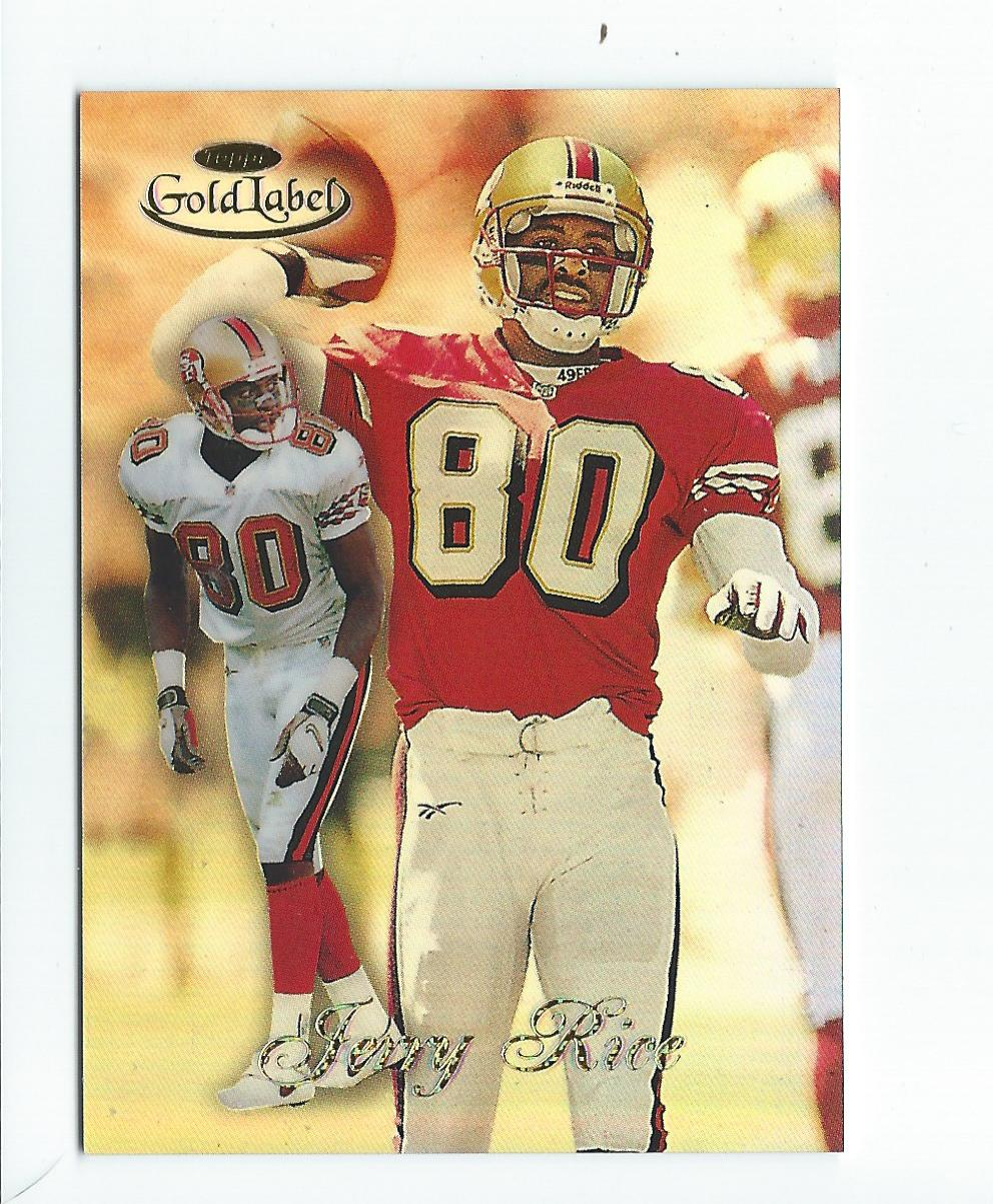 1998 Topps Gold Label Class 3 #45 Jerry Rice