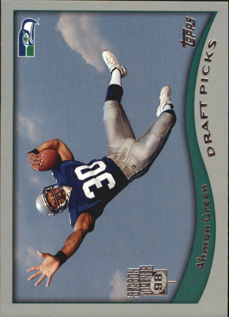 1998 Topps Season Opener #20 Ahman Green RC