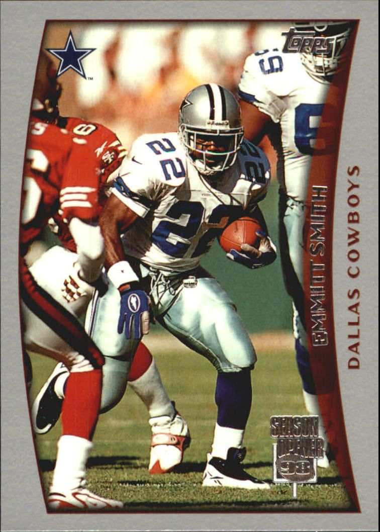 1998 Topps Season Opener #38 Emmitt Smith