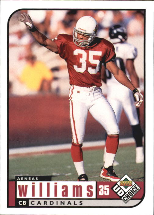 1998 UD Choice #5 Aeneas Williams