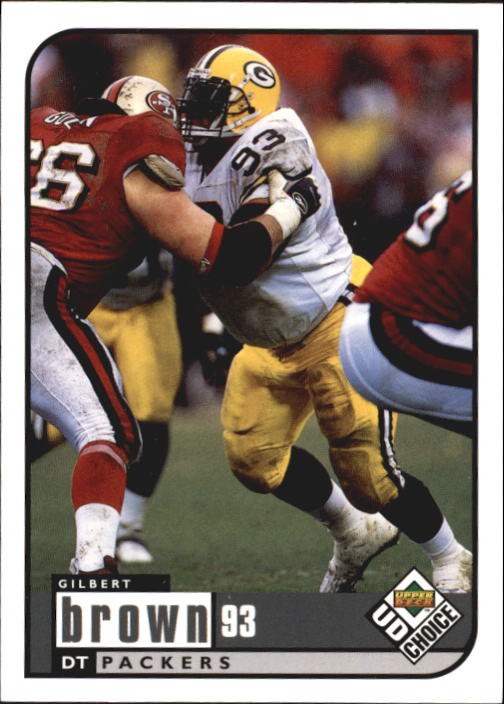 1998 UD Choice #65 Gilbert Brown