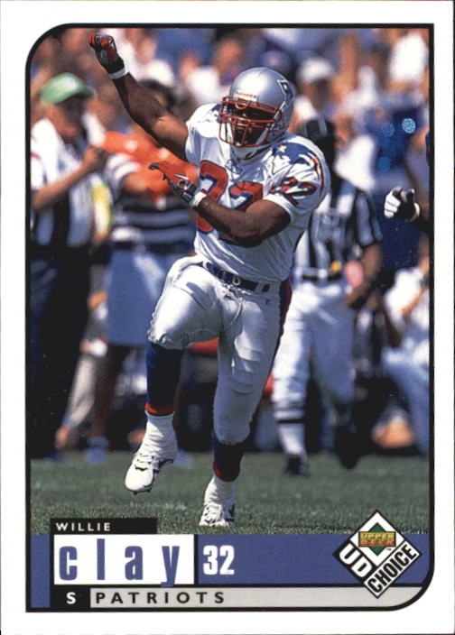 1998 UD Choice #112 Willie Clay