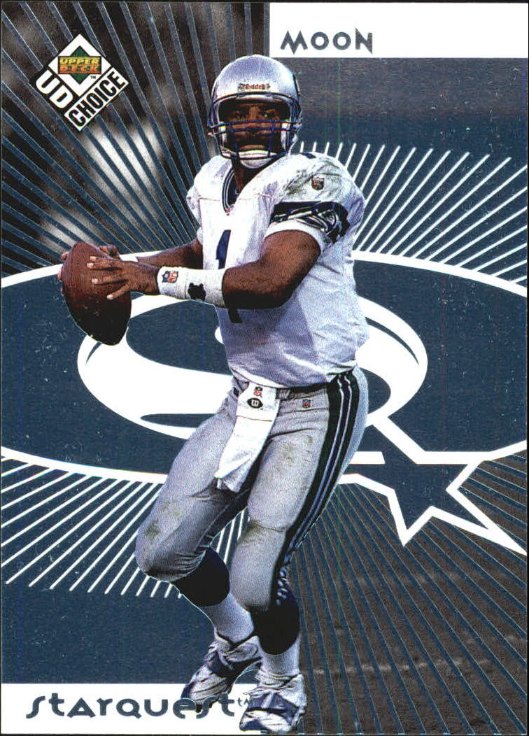 1998 UD Choice Starquest #1 Warren Moon