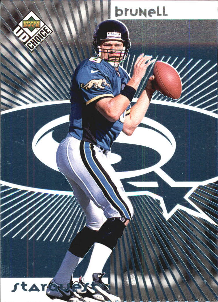 1998 UD Choice Starquest #18 Mark Brunell