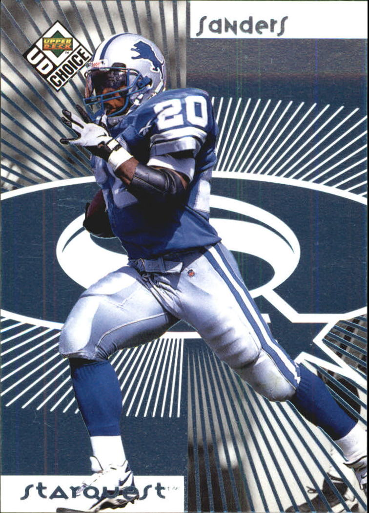 1998 UD Choice Starquest #20 Barry Sanders