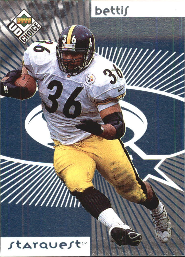 1998 UD Choice Starquest #26 Jerome Bettis