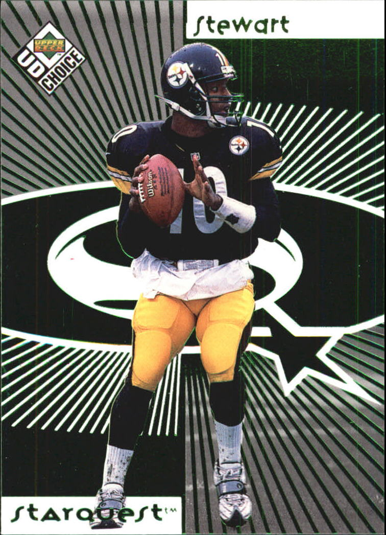 1998 UD Choice Starquest Green #10 Kordell Stewart
