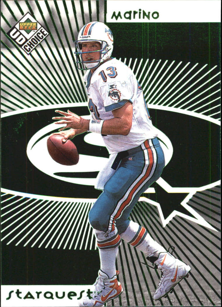 1998 UD Choice Starquest Green #13 Dan Marino