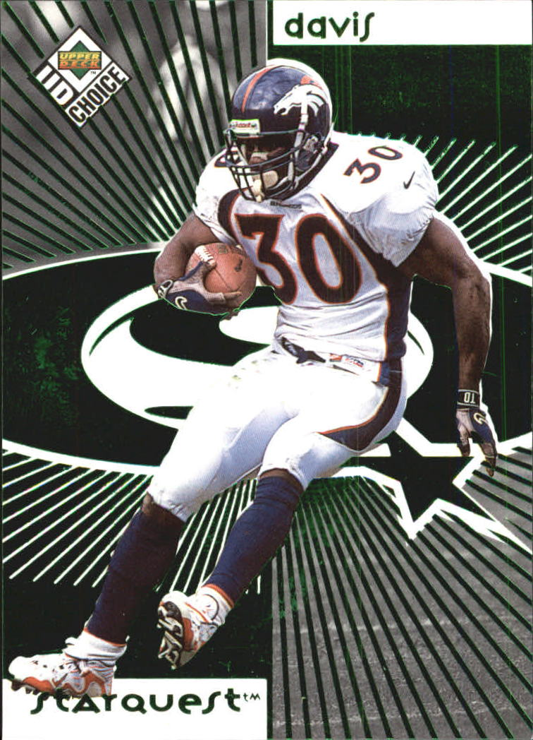 1998 UD Choice Starquest Green #30 Terrell Davis