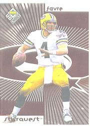 1998 UD Choice Starquest Red #4 Brett Favre