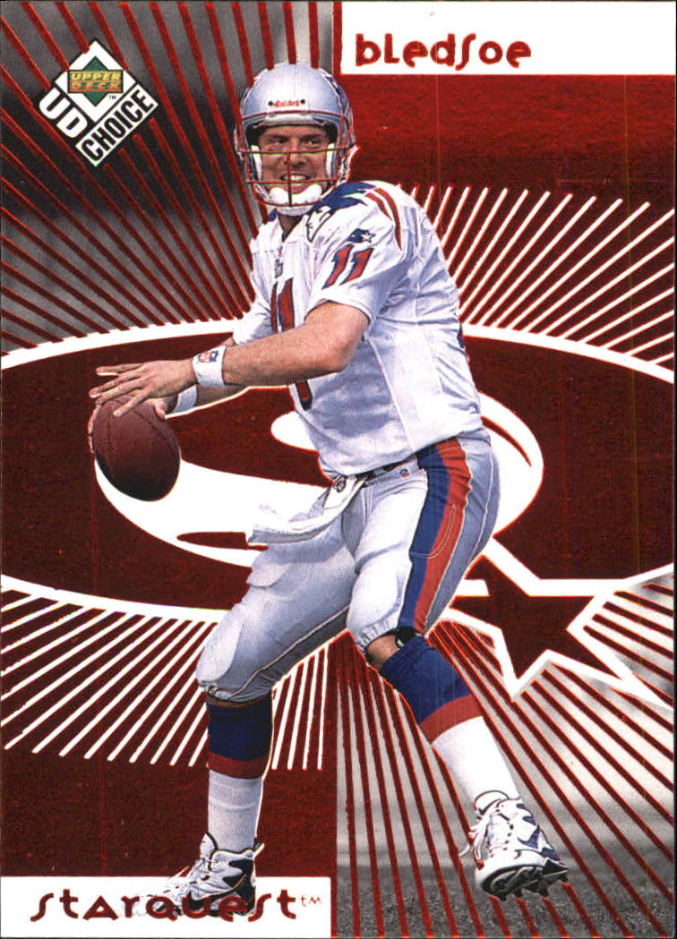 1998 UD Choice Starquest Red #11 Drew Bledsoe
