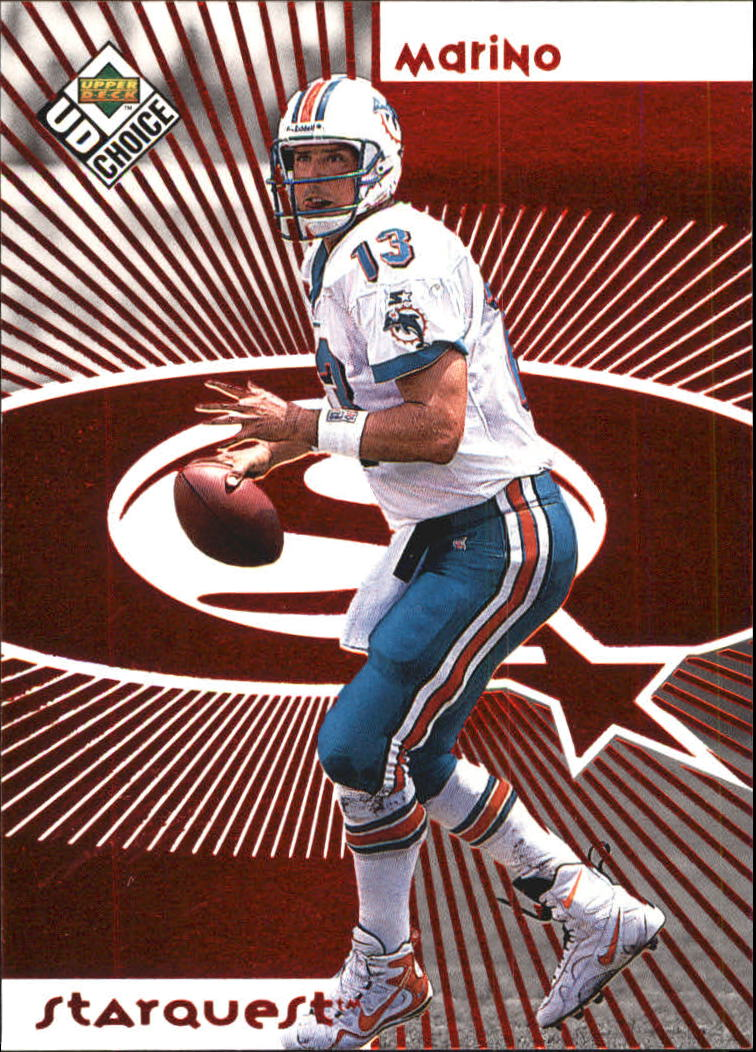 1998 UD Choice Starquest Red #13 Dan Marino