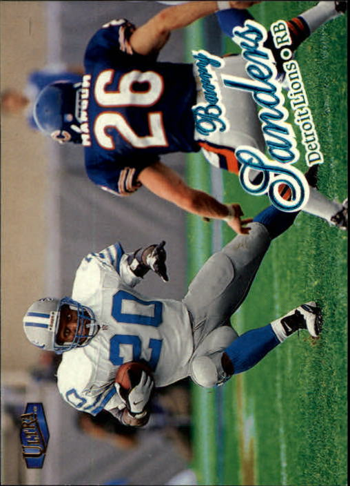 1998 Ultra #1 Barry Sanders