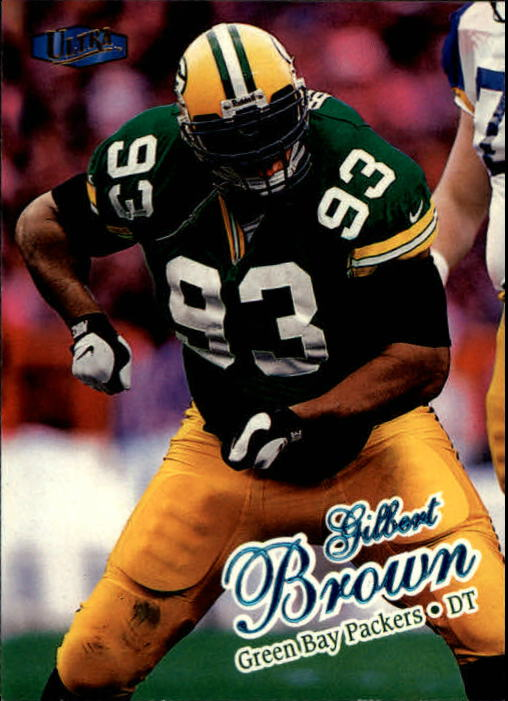 1998 Ultra #25 Gilbert Brown