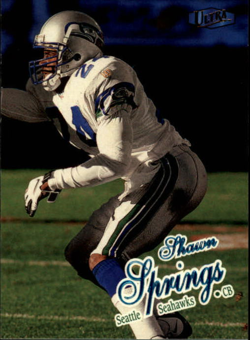 1998 Ultra #86 Shawn Springs