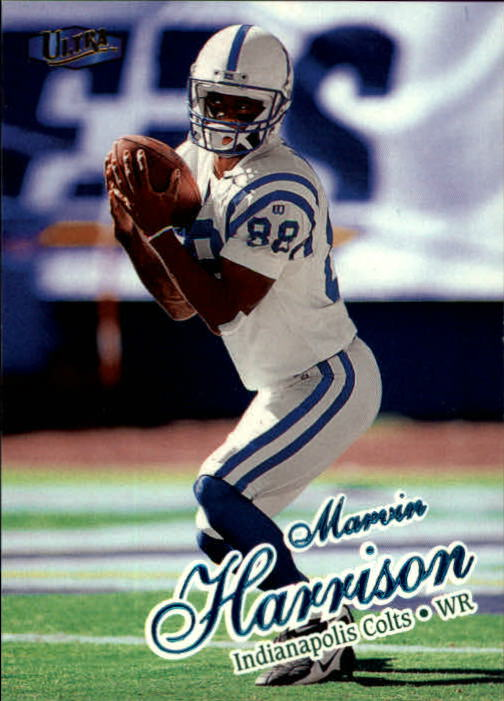 1998 Ultra #95 Marvin Harrison