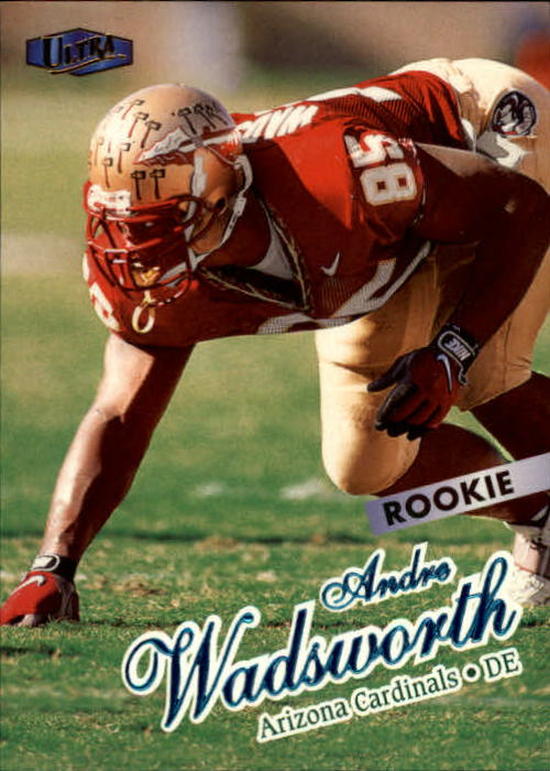 1998 Ultra #204 Andre Wadsworth RC