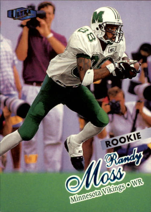 1998 Ultra #207 Randy Moss RC