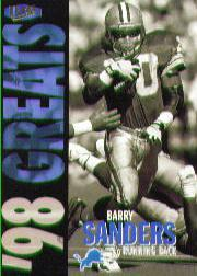 1998 Ultra #363 Barry Sanders NG