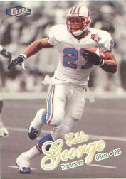 1998 Ultra Gold Medallion #190G Eddie George
