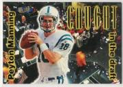 1998 Ultra Caught in the Draft #4 Peyton Manning