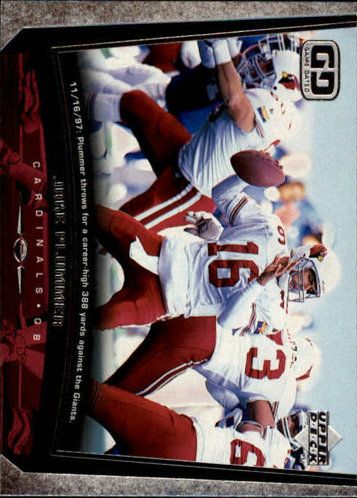 1998 Upper Deck #49 Jake Plummer