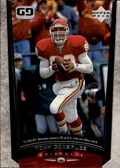1998 Upper Deck #138 Tony Gonzalez
