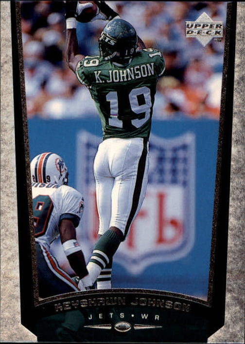 1998 Upper Deck #178 Keyshawn Johnson