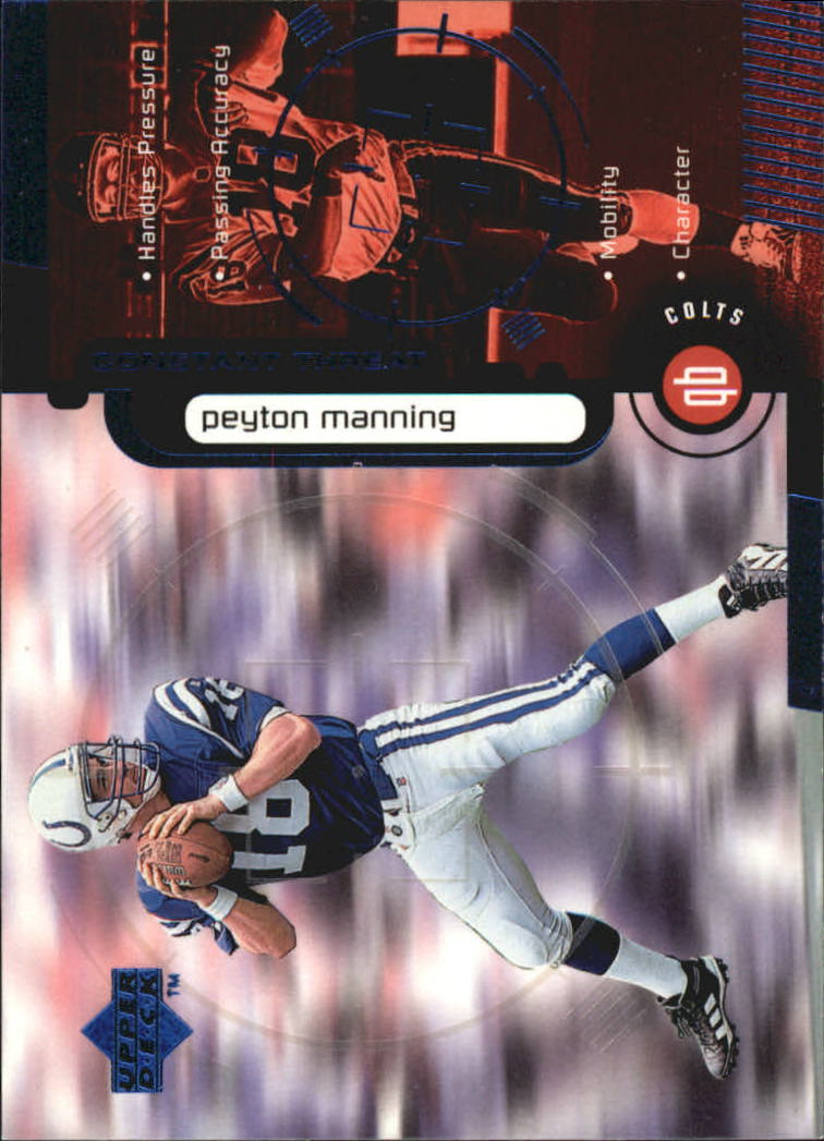 1998 Upper Deck Constant Threat #CT2 Peyton Manning
